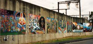 melbourne Graffiti, urban enhancement, richmond graffiti boards