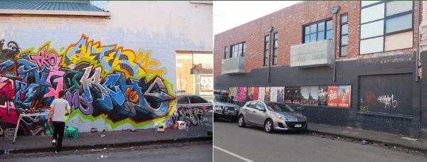 melbourne graffiti, urban enhancement