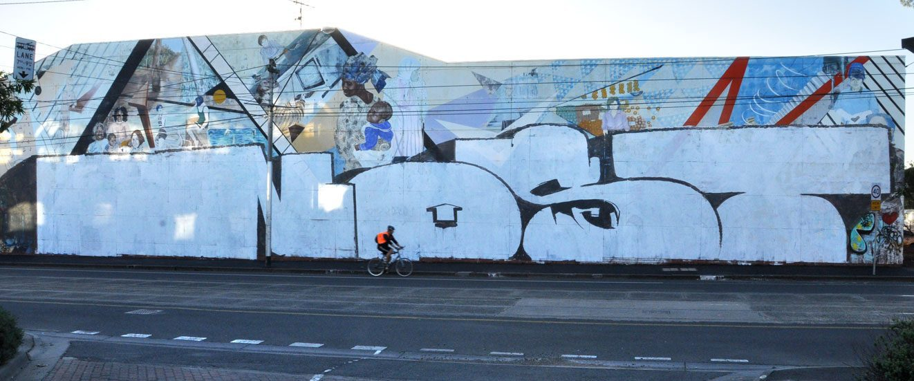 melbourne graffiti, urban enhancement, nost