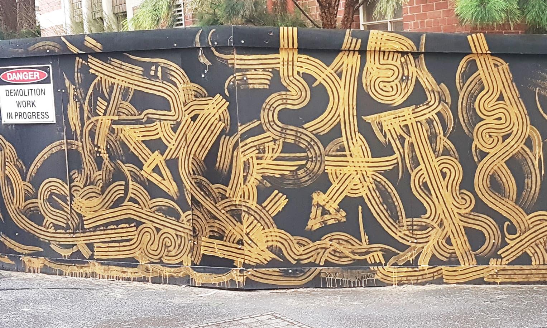 street artist, street art, graffiti, graffiti artist, street artists for hire, urban enhancement, large mural, large mural south melbourne