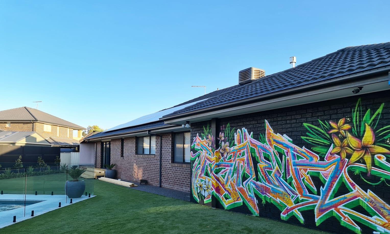 street artist, street art, graffiti, graffiti artist, street artists for hire, urban enhancement, feature wall